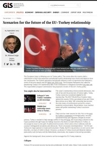Scenarios for the future of the EU-Turkey relationship summary