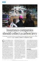 Insurance Companies Should Collect a Carbon Levy