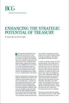 Enhancing the Strategic Potential of Treasury
