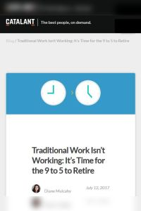 Traditional Work Isn't Working summary