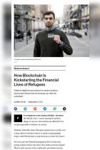 How Blockchain Is Kickstarting the Financial Lives of Refugees