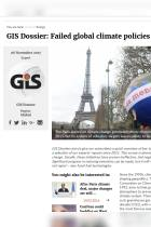 GIS Dossier: Failed Global Climate Policies