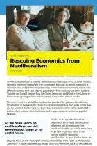 Rescuing Economics from Neoliberalism