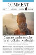 Chemists Can Help to Solve the Air-Pollution Health Crisis