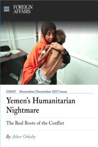 Yemen's Humanitarian Nightmare summary