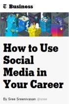 How to Use Social Media in Your Career