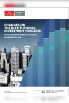 Changes on the Institutional Investment Horizon