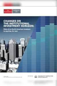 Changes on the Institutional Investment Horizon summary