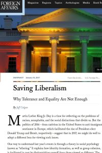 Saving Liberalism summary