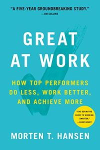 Great at Work book summary