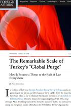 "The Remarkable Scale of Turkey's ""Global Purge"""