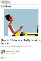 How to Thrive As a Highly Sensitive Person