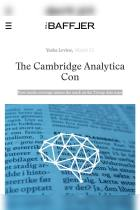 The Cambridge Analytica Con