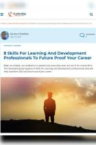 8 Skills for Learning and Development Professionals to Future Proof Your Career