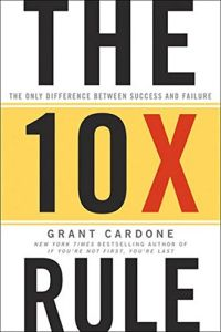 The 10X Rule book summary