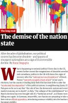 The demise of the nation state
