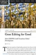Gene Editing for Good