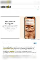 The Internet Apologizes…