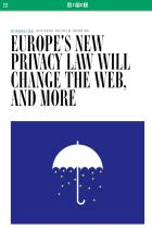 Europe's New Privacy Law Will Change the Web, and More