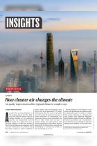 How Cleaner Air Changes the Climate