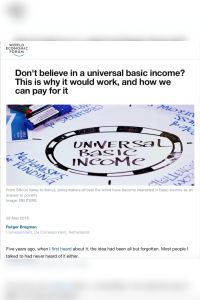 Don't Believe in a Universal Basic Income? summary
