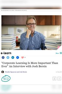"""Corporate Learning Is More Important than Ever""  summary"