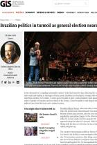 Brazilian Politics in Turmoil as General Election Nears