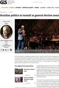 Brazilian Politics in Turmoil as General Election Nears summary