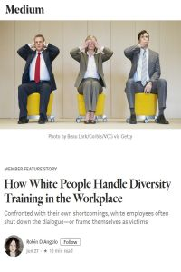 How White People Handle Diversity Training in the Workplace summary