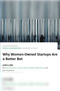 Why Women-Owned Startups Are a Better Bet summary