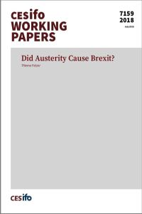 Did Austerity Cause Brexit? summary