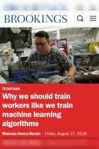 Why We Should Train Workers like We Train Machine Learning Algorithms