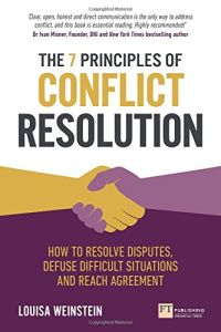The 7 Principles of Conflict Resolution book summary