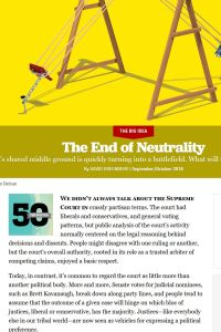 The End of Neutrality summary