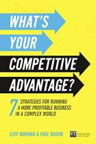 What's Your Competitive Advantage?
