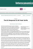 The EU Response to US Trade Tariffs