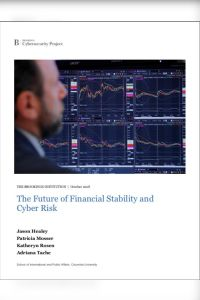 The Future of Financial Stability and Cyber Risk summary