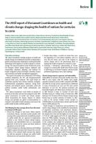 The 2018 Report of the Lancet Countdown on Health and Climate Change
