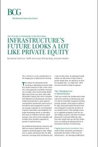 Infrastructure's Future Looks a Lot Like Private Equity summary