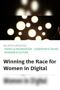 Winning the Race for Women in Digital summary