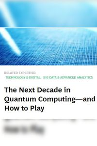 The Next Decade in Quantum Computing – and How to Play summary