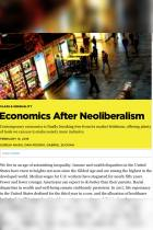 Economics After Neoliberalism