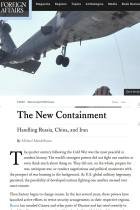 The New Containment
