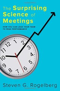The Surprising Science of Meetings book summary