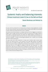 Systemic Rivalry and Balancing Interests summary