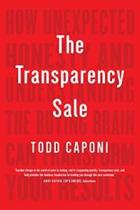The Transparency Sale book summary