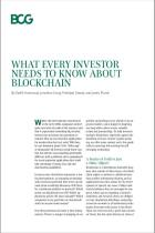 What Every Investor Needs to Know About Blockchain