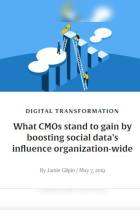 What CMOs Stand to Gain by Boosting Social Data's Influence Organization-Wide