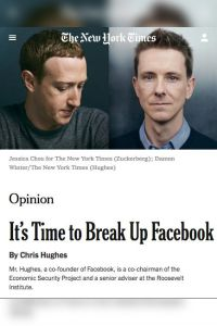 It's Time to Break Up Facebook summary