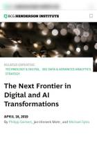 The Next Frontier in Digital and AI Transformations